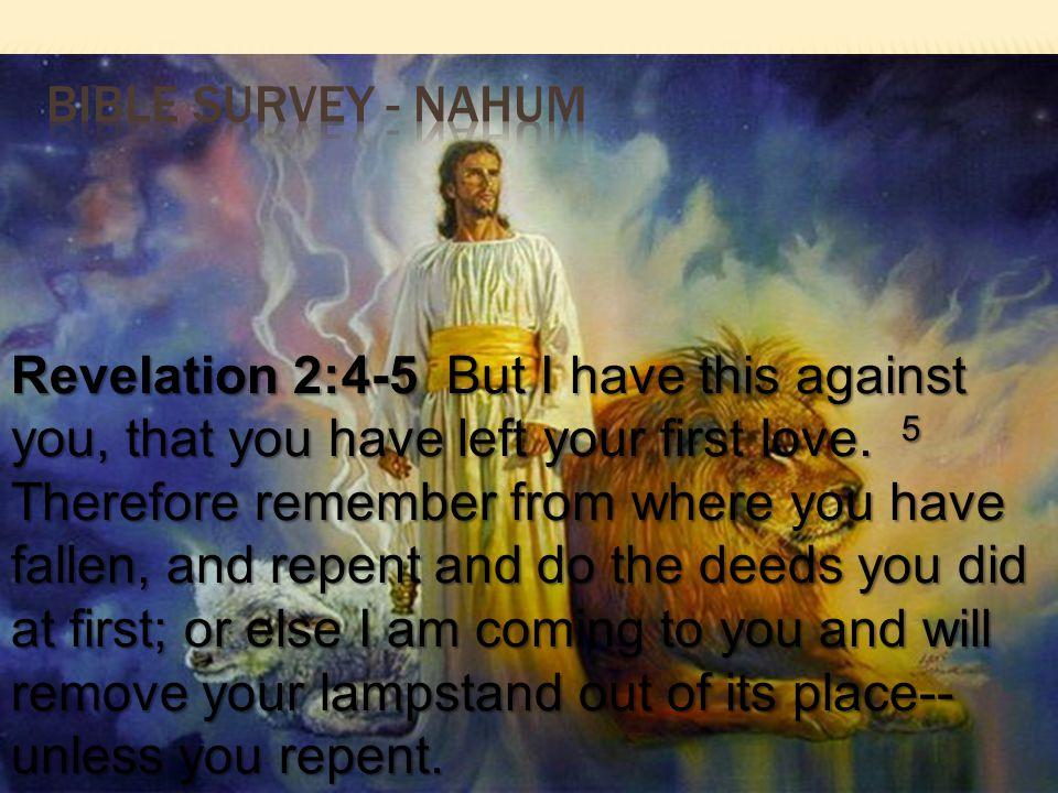 Bible survey - nahum