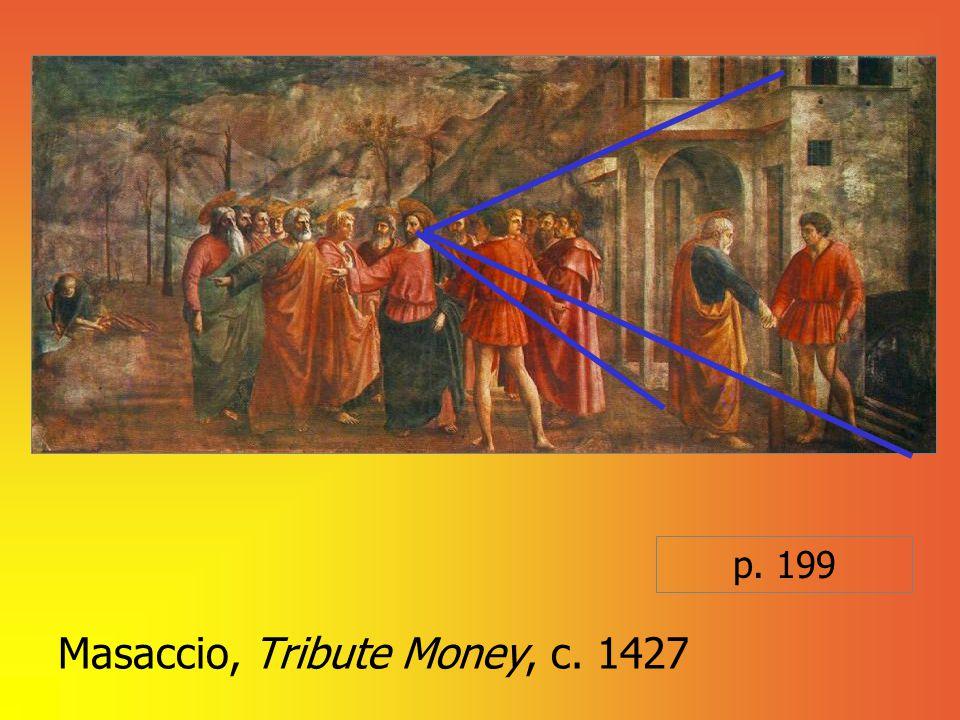 Masaccio, Tribute Money, c. 1427