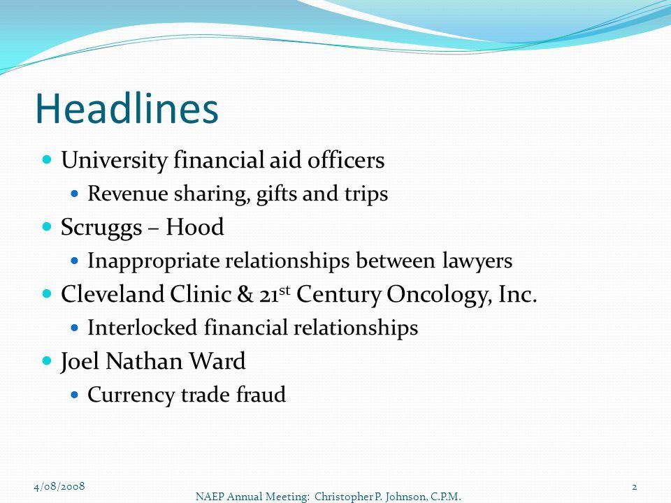 Headlines University financial aid officers Scruggs – Hood