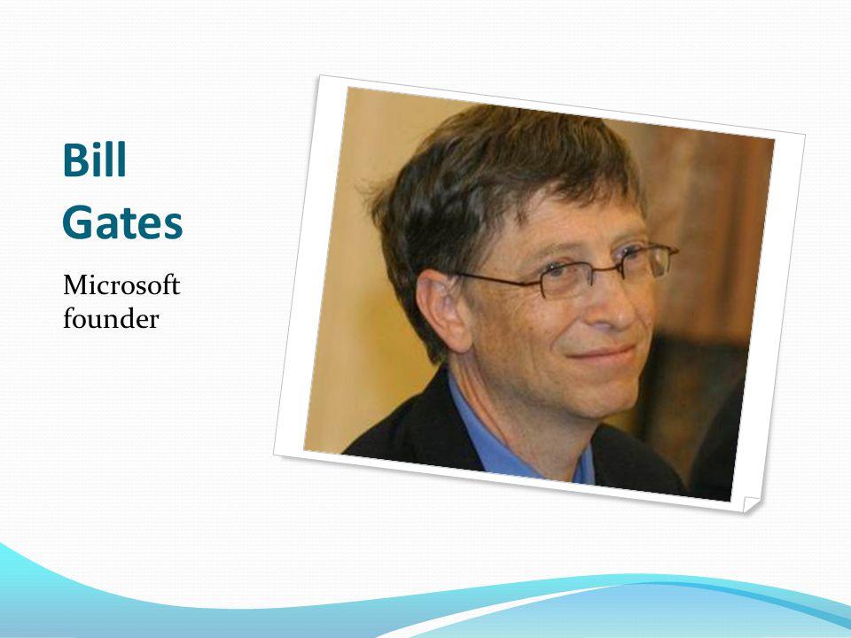 Bill Gates Microsoft founder
