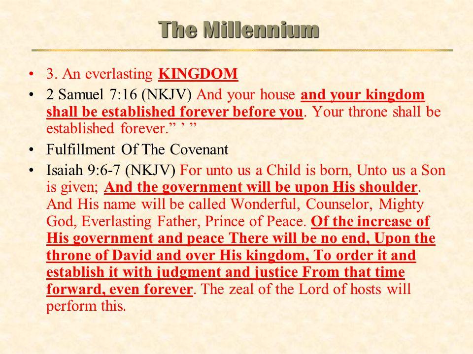 The Millennium 3. An everlasting KINGDOM