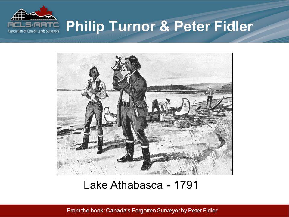 Philip Turnor & Peter Fidler