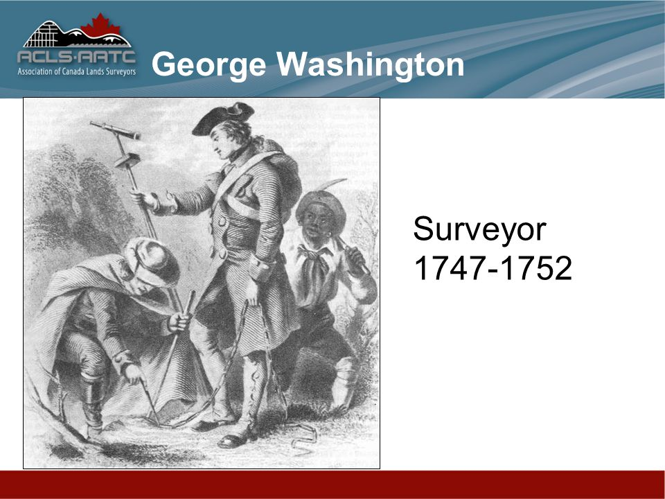 George Washington Surveyor 1747-1752