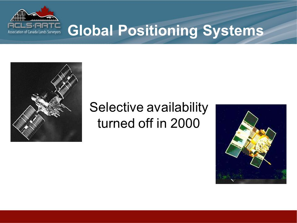 Selective availability turned off in 2000