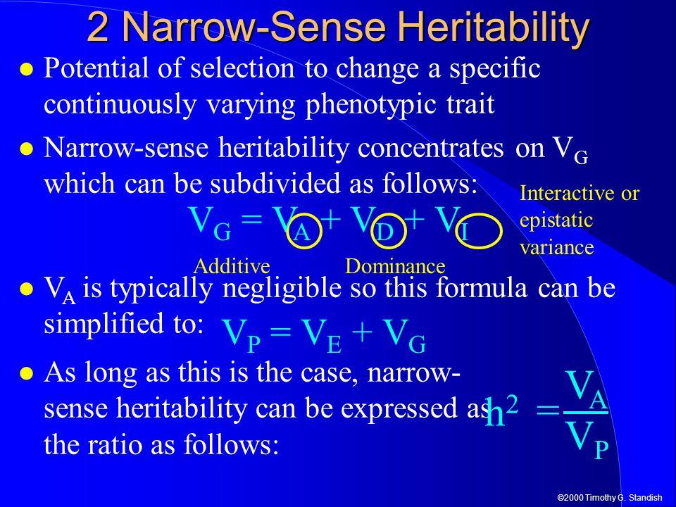 2 Narrow-Sense Heritability