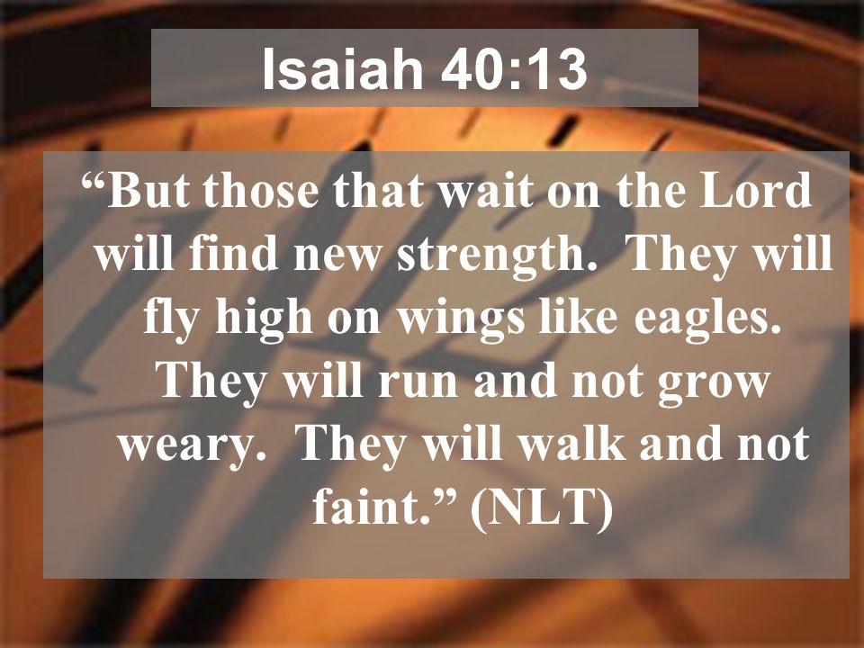 Isaiah 40:13