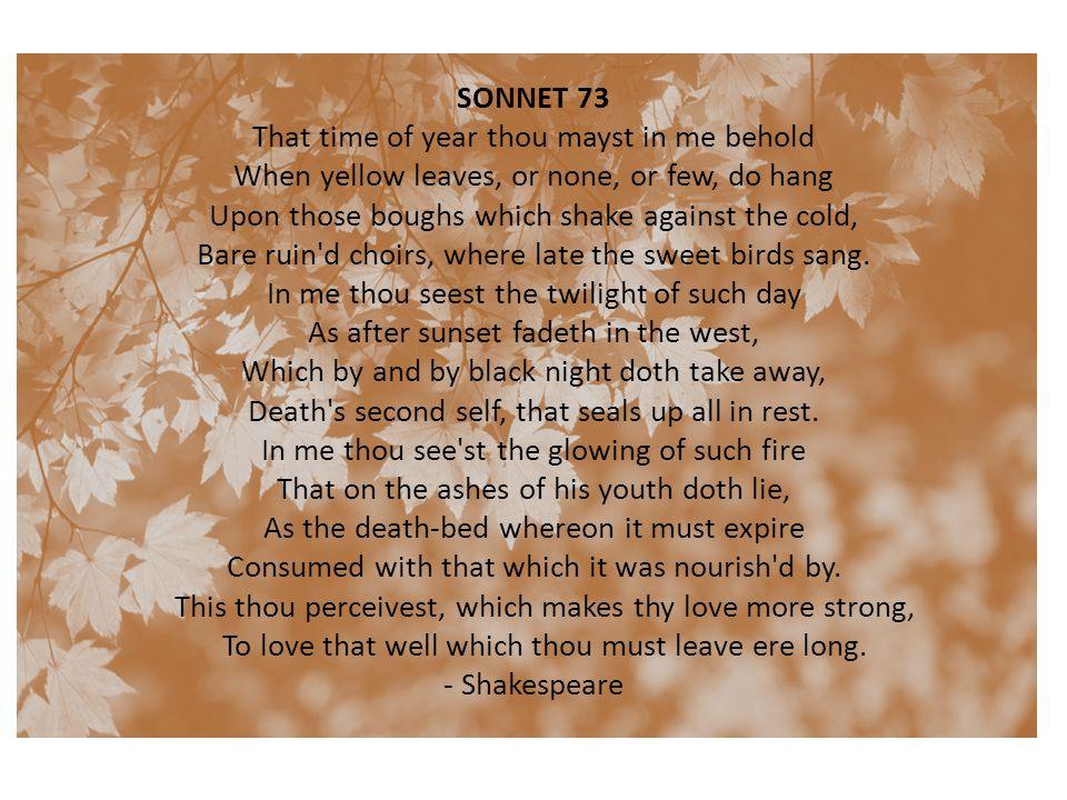 sonnet 73 poem