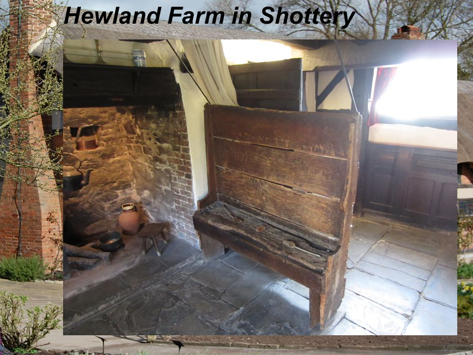 Hewland Farm in Shottery Shakespeare's wife's house