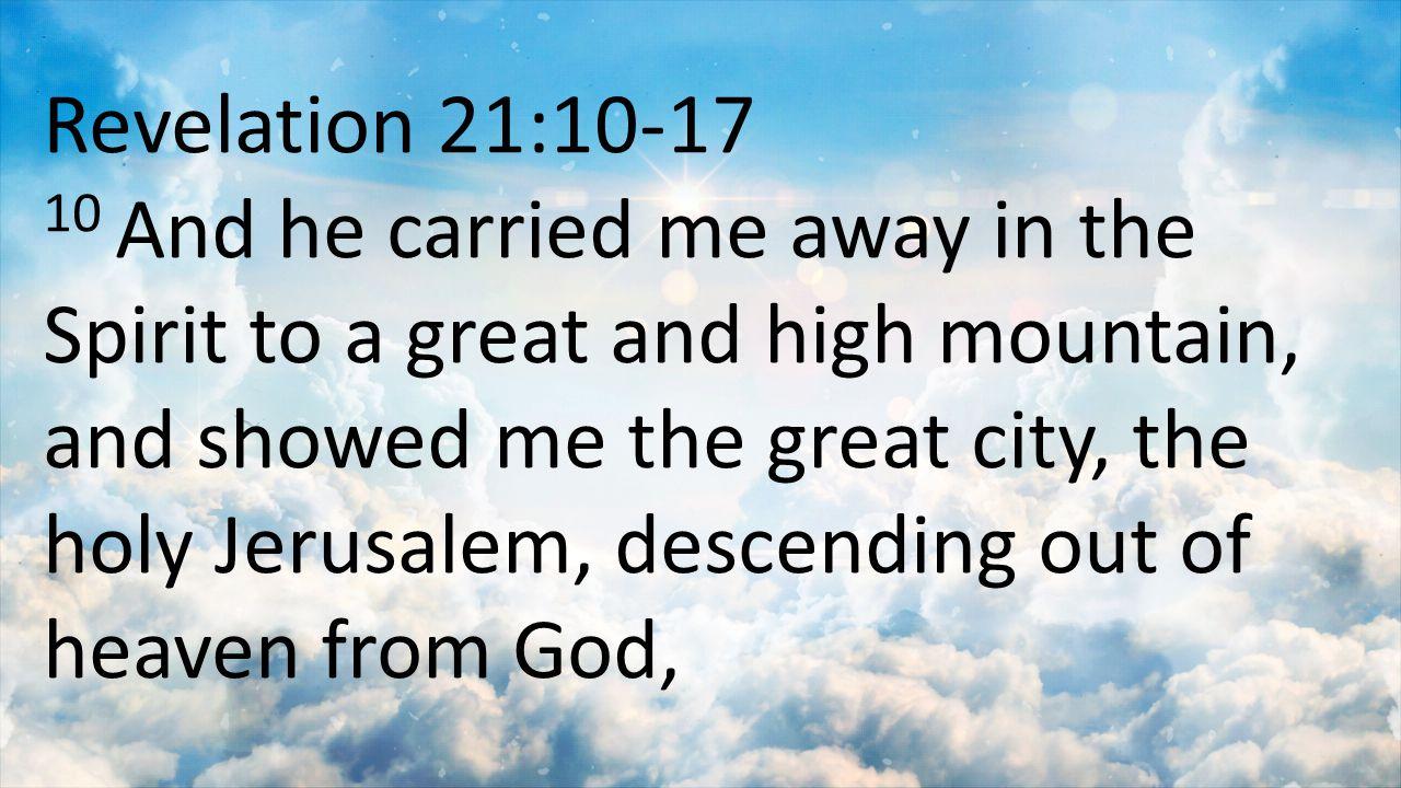 Revelation 21:10-17