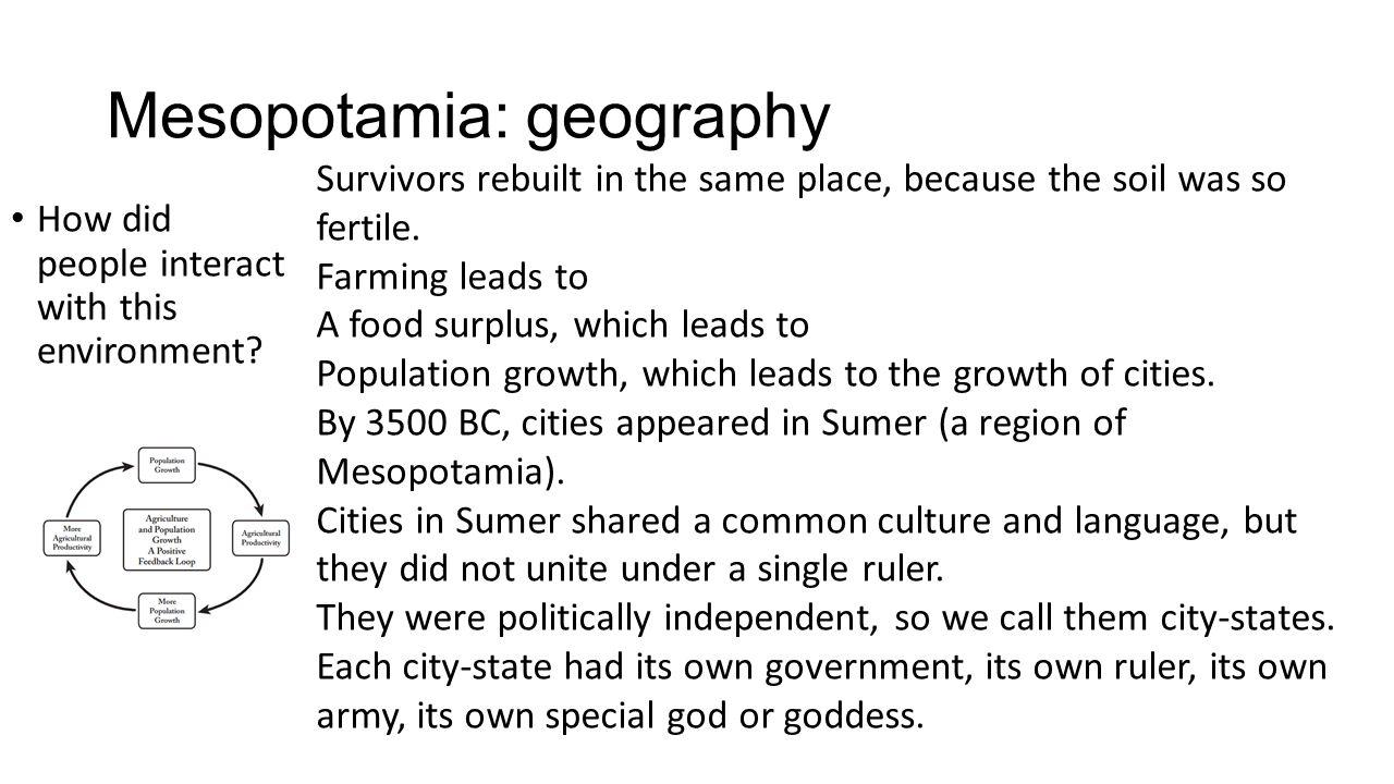 Mesopotamia: geography