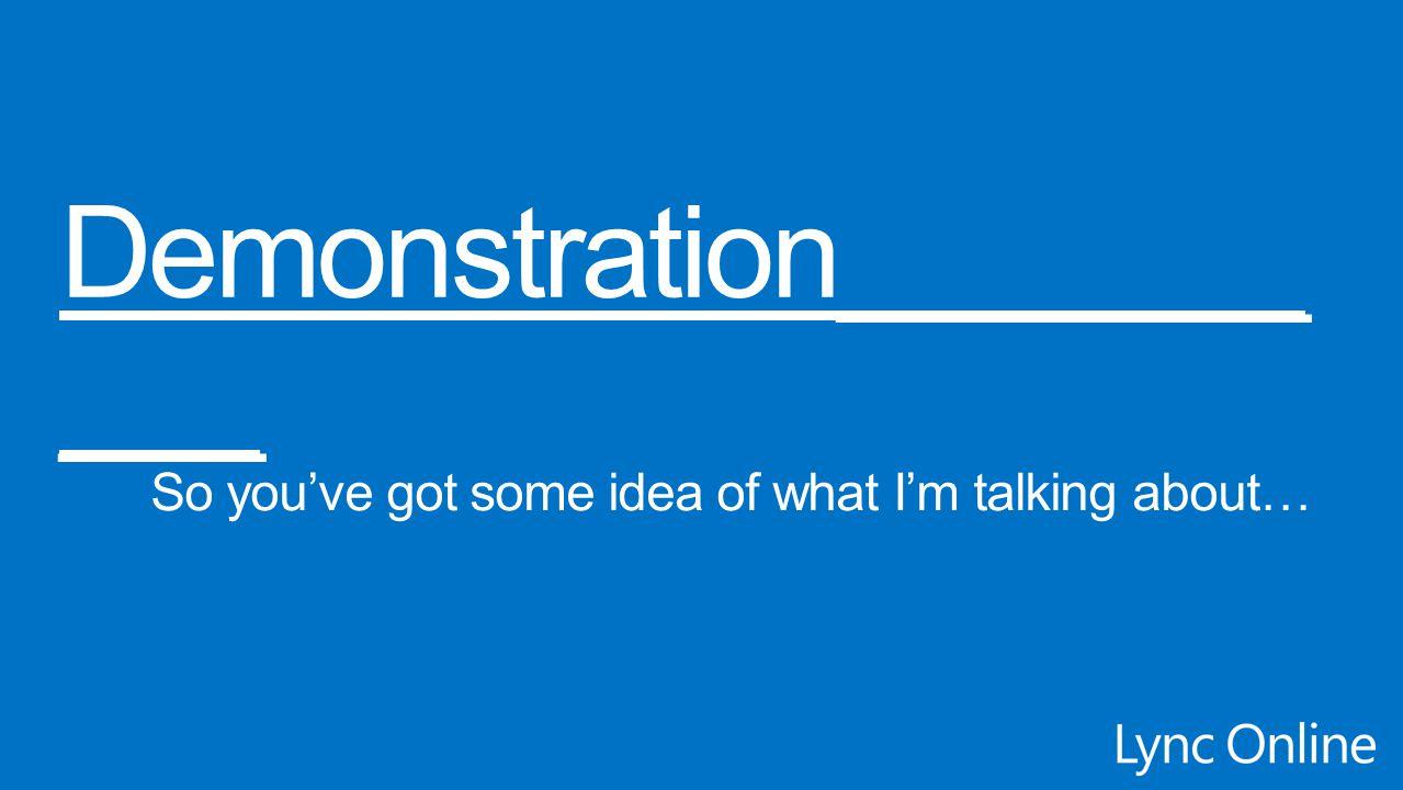 Demonstration__________