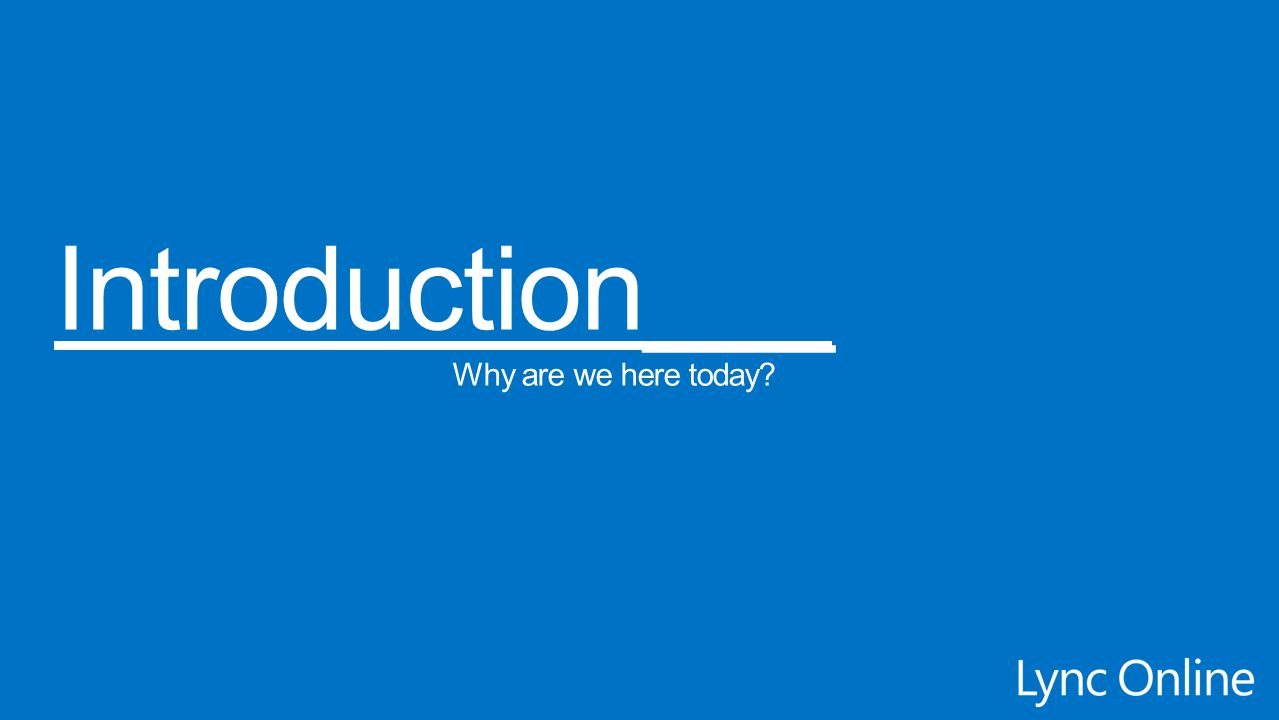 Introduction___ Management Surfaces Why are we here today