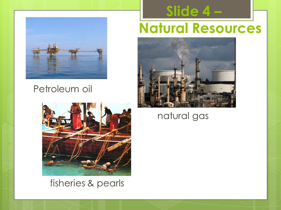Slide 4 – Natural Resources