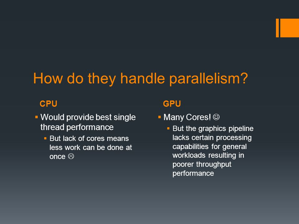 How do they handle parallelism