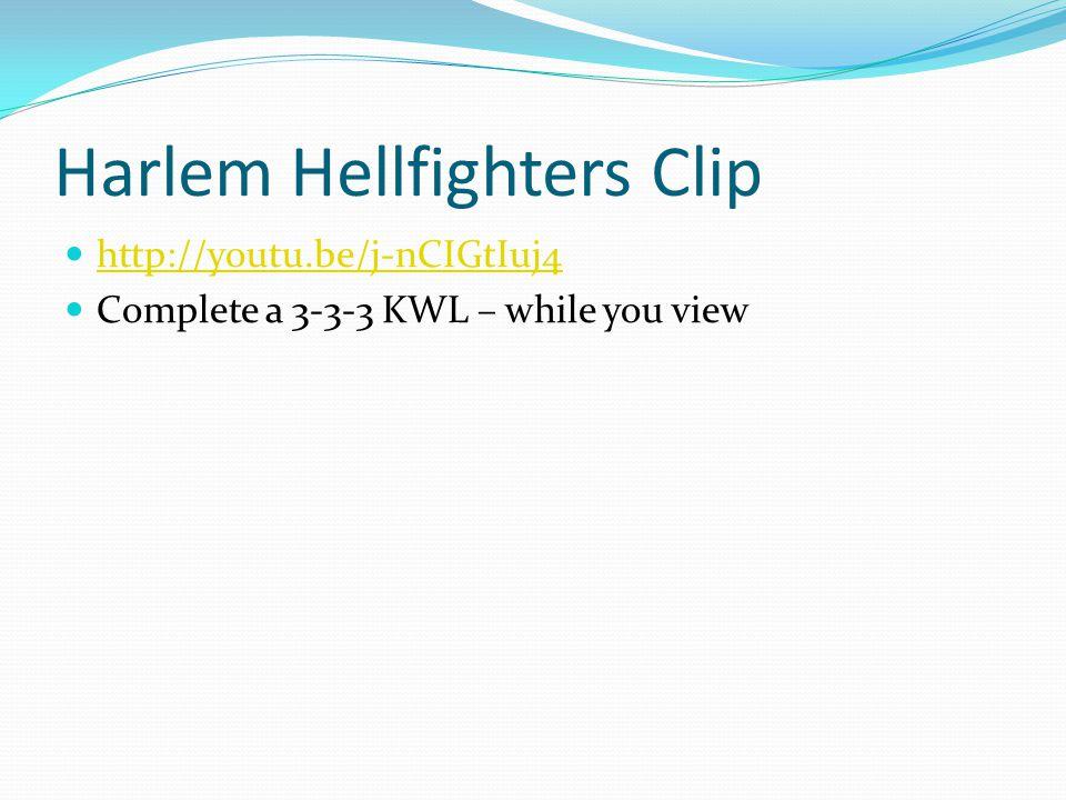 Harlem Hellfighters Clip