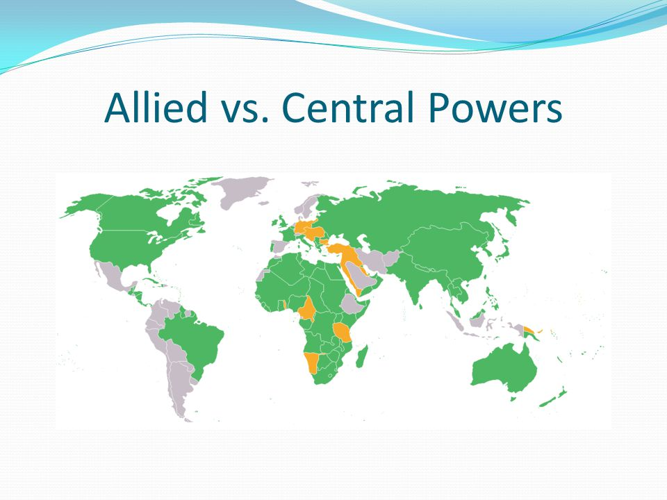 Allied vs. Central Powers