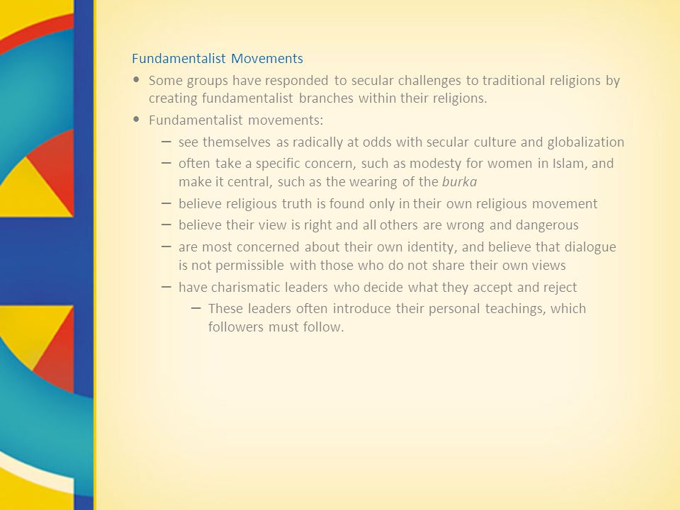 Fundamentalist Movements