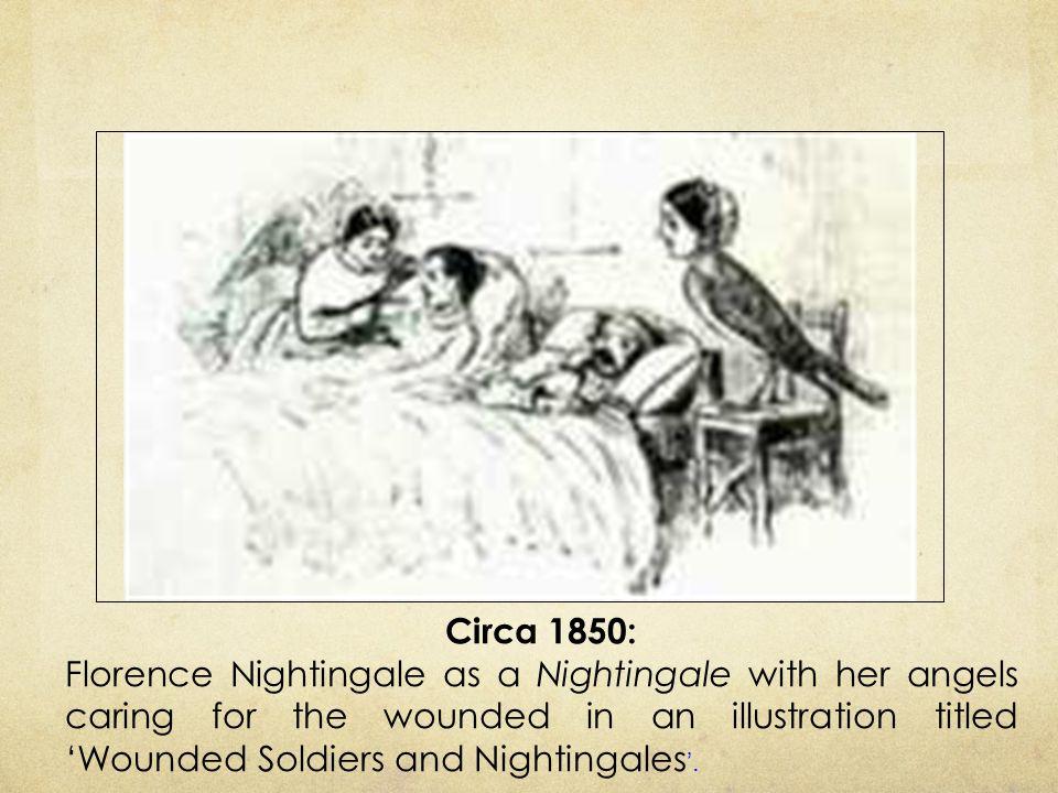 Circa 1850: