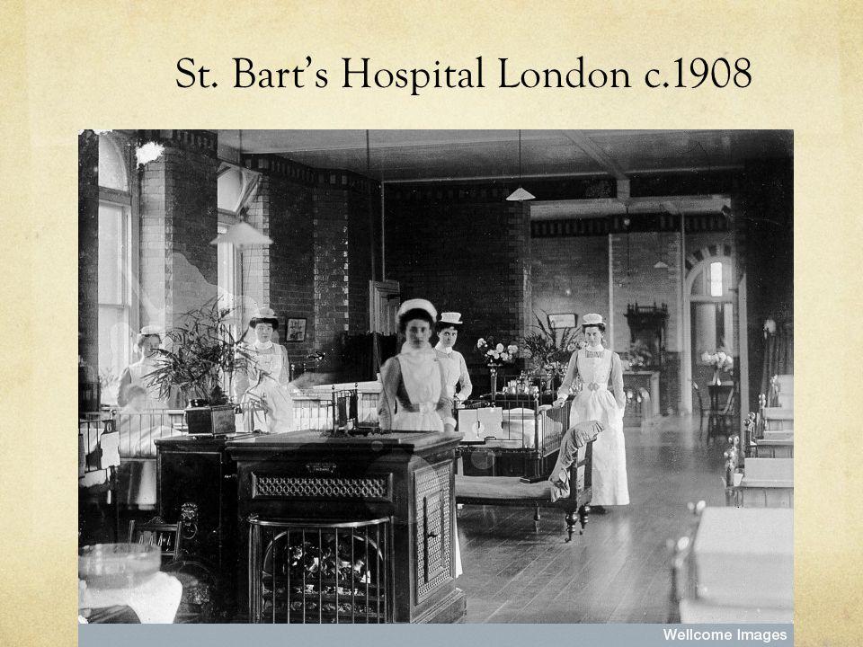 St. Bart's Hospital London c.1908