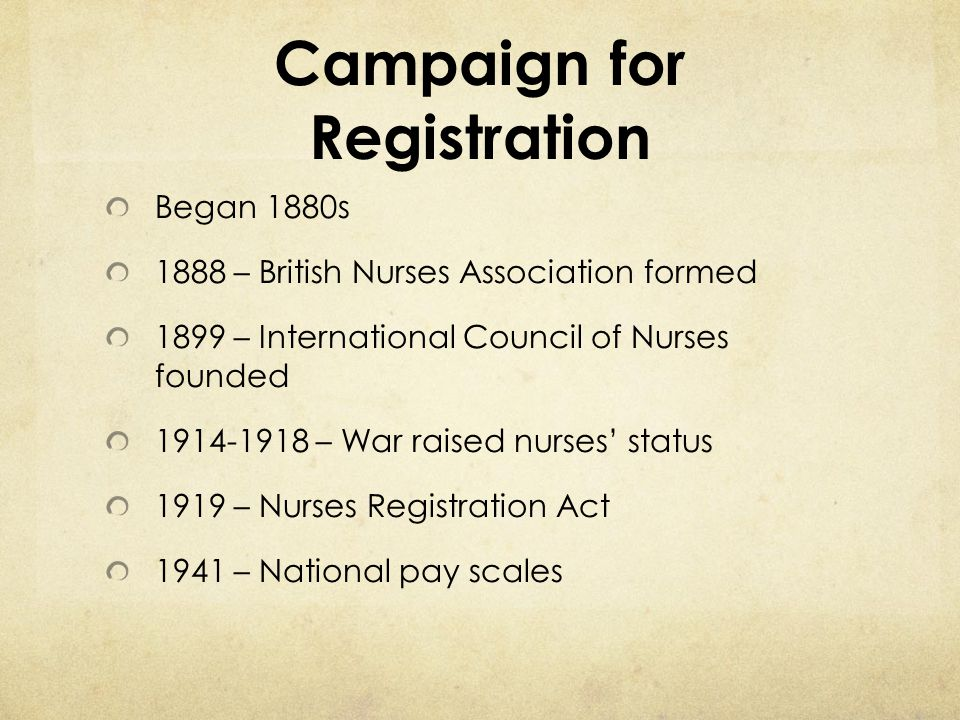 Campaign for Registration