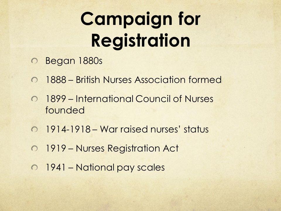 Campaign for Registration