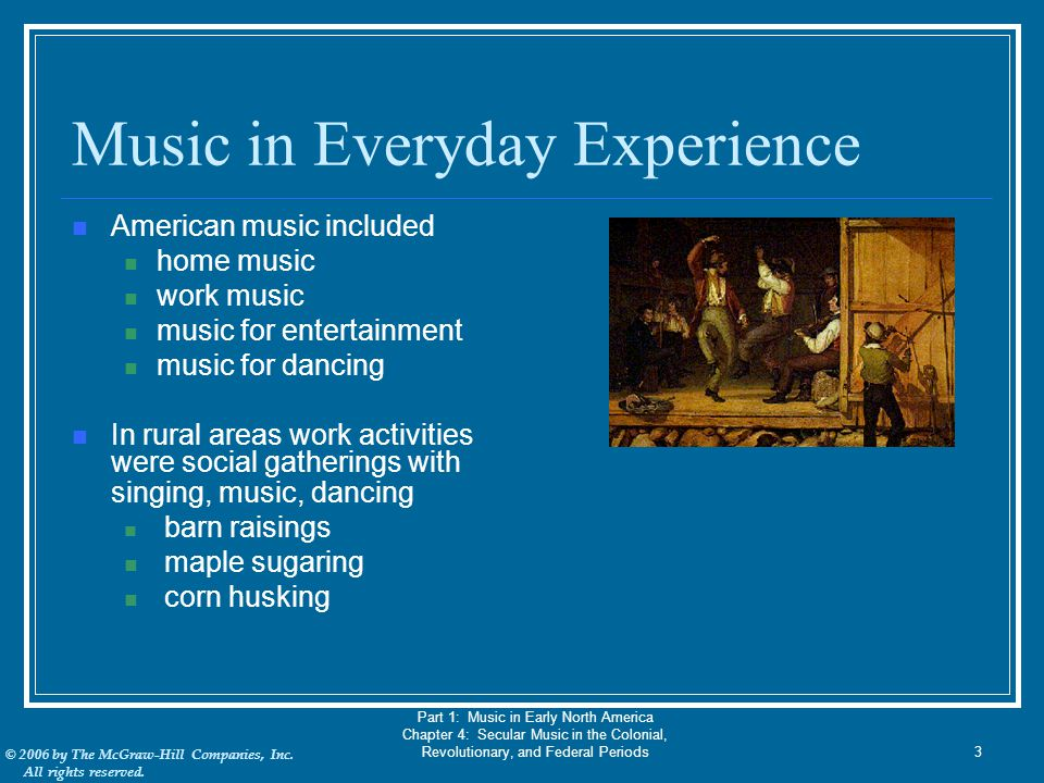 Music in Everyday Experience