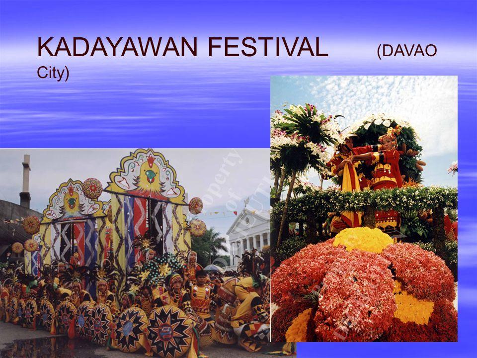 KADAYAWAN FESTIVAL (DAVAO City)