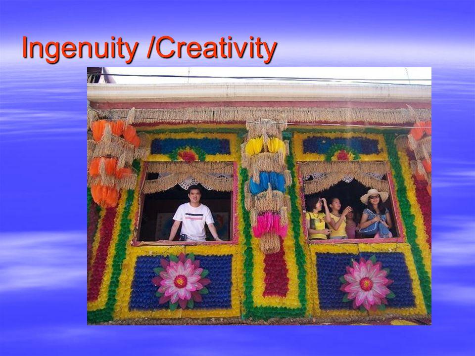 Ingenuity /Creativity