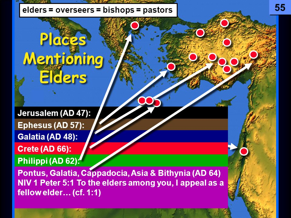 Places Mentioning Elders