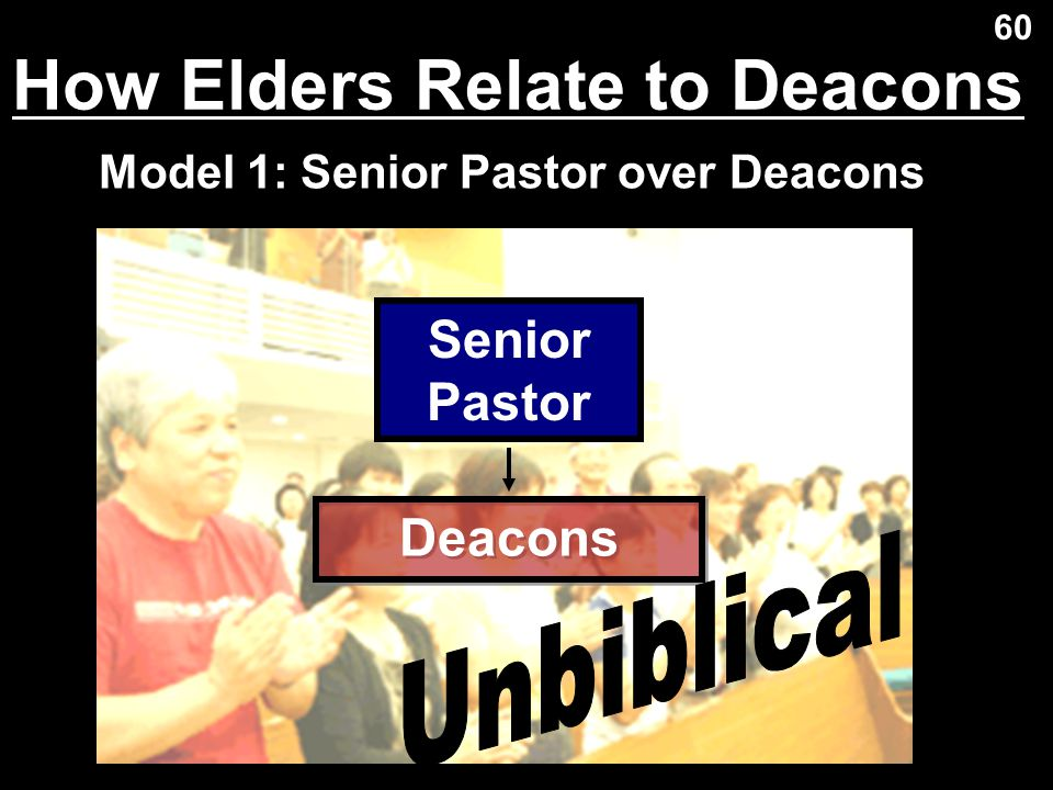 How Elders Relate to Deacons