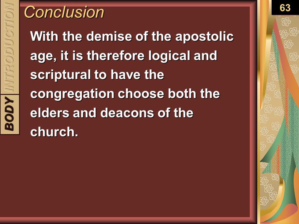 Conclusion 63.
