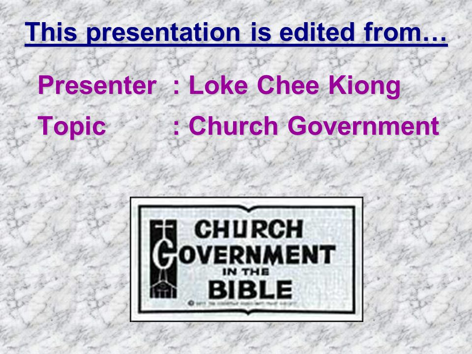 This presentation is edited from…