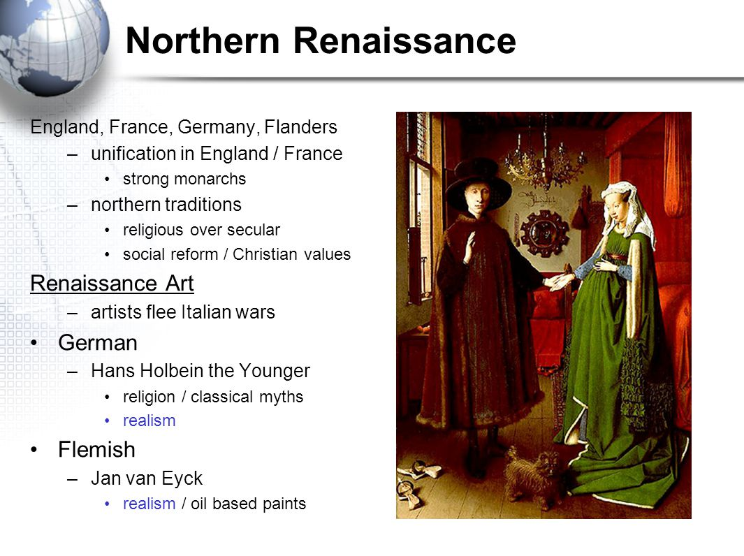 Northern Renaissance Renaissance Art German Flemish