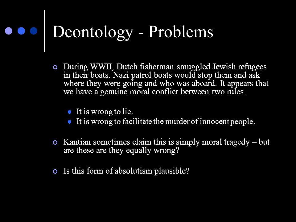 Deontology - Problems