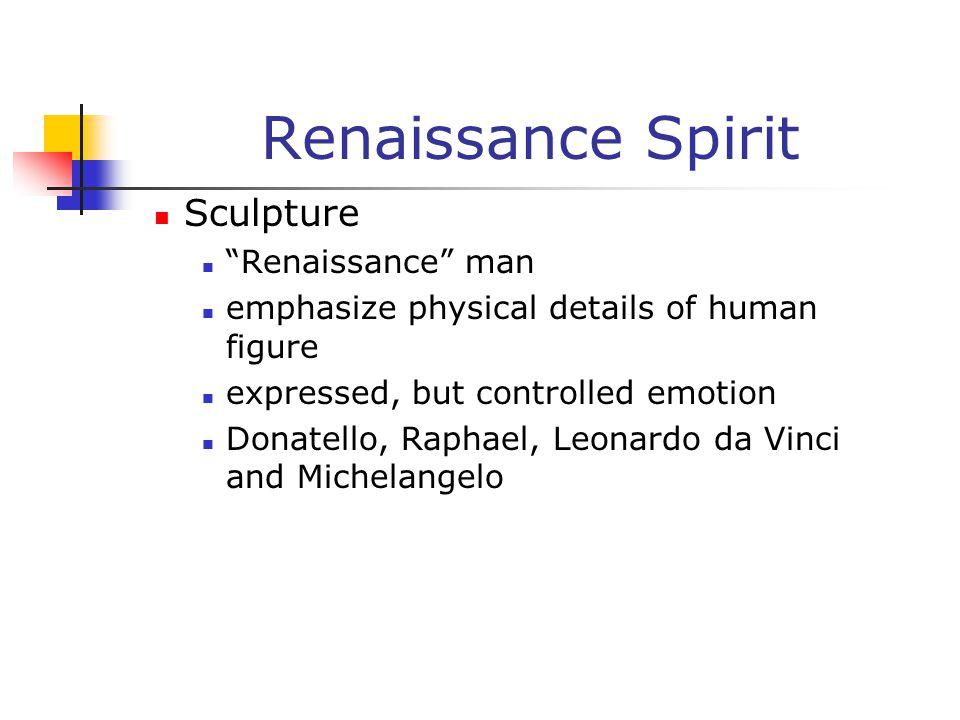 Renaissance Spirit Sculpture Renaissance man