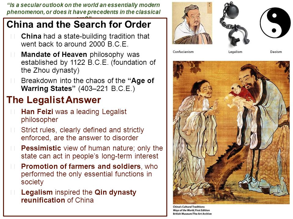 China and the Search for Order