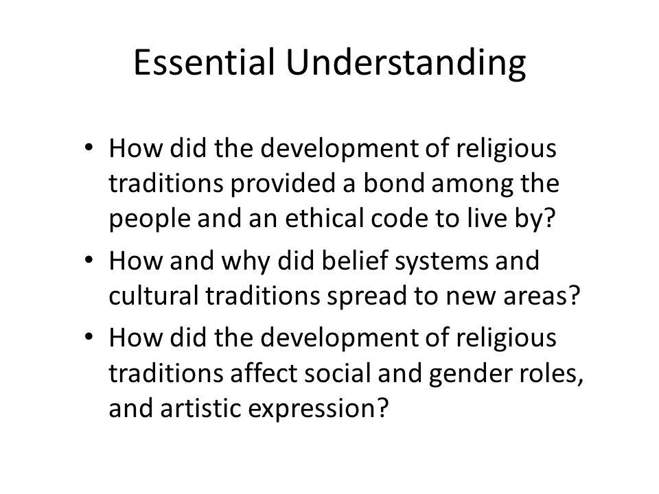 Essential Understanding