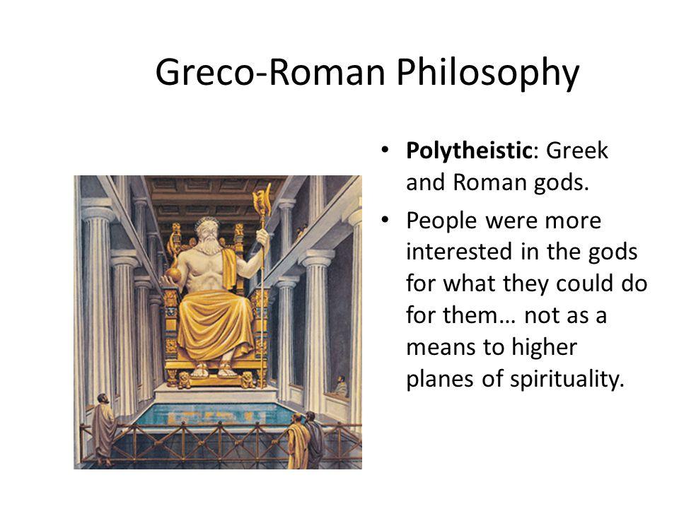 Greco-Roman Philosophy