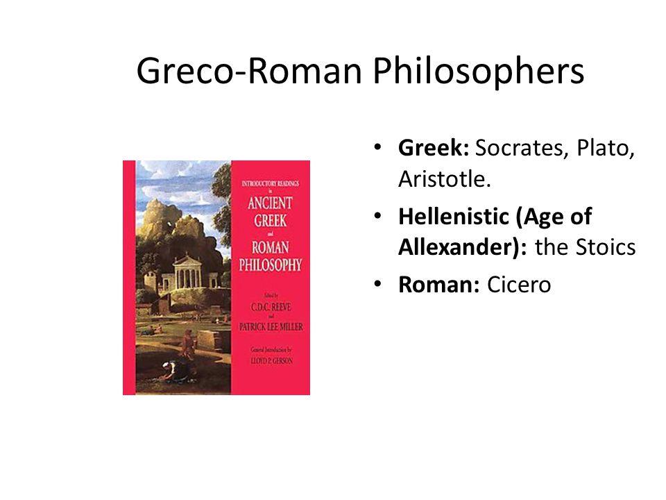 Greco-Roman Philosophers