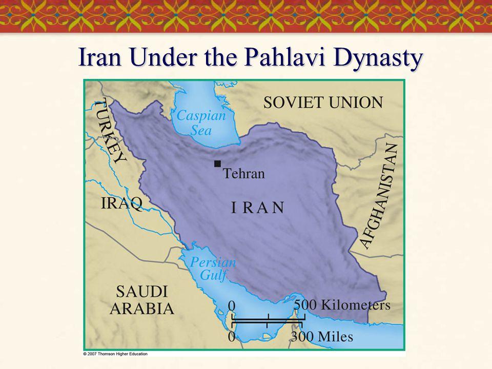 Iran Under the Pahlavi Dynasty