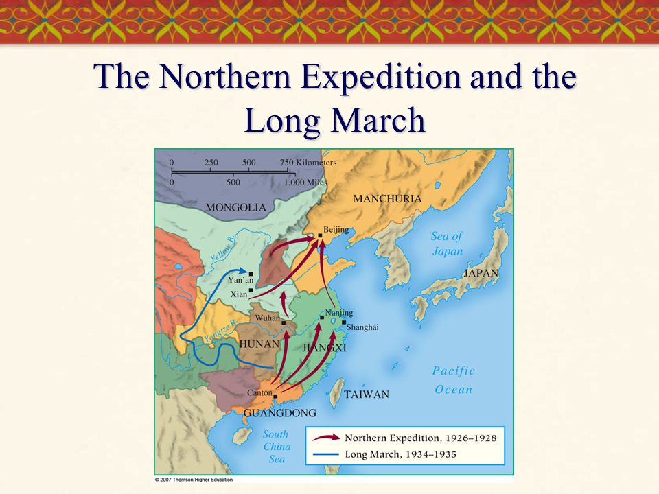The Northern Expedition and the Long March