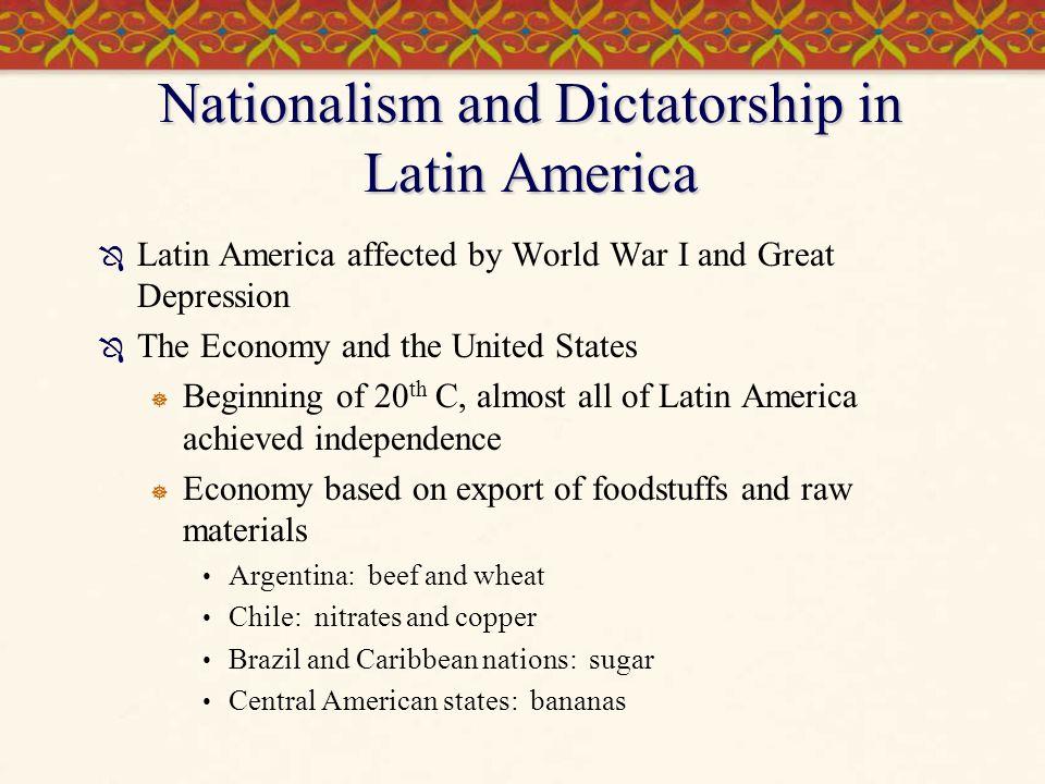 Nationalism and Dictatorship in Latin America