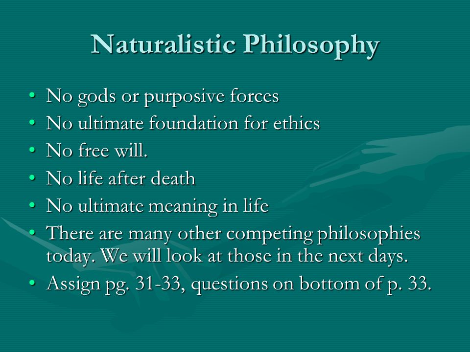 Naturalistic Philosophy
