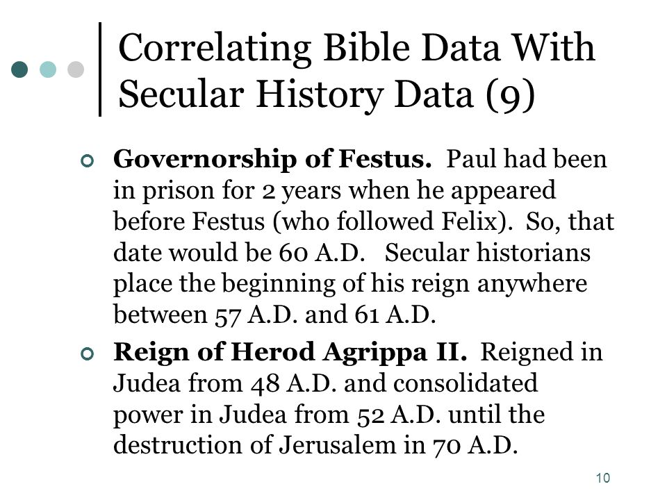 Correlating Bible Data With Secular History Data (9)