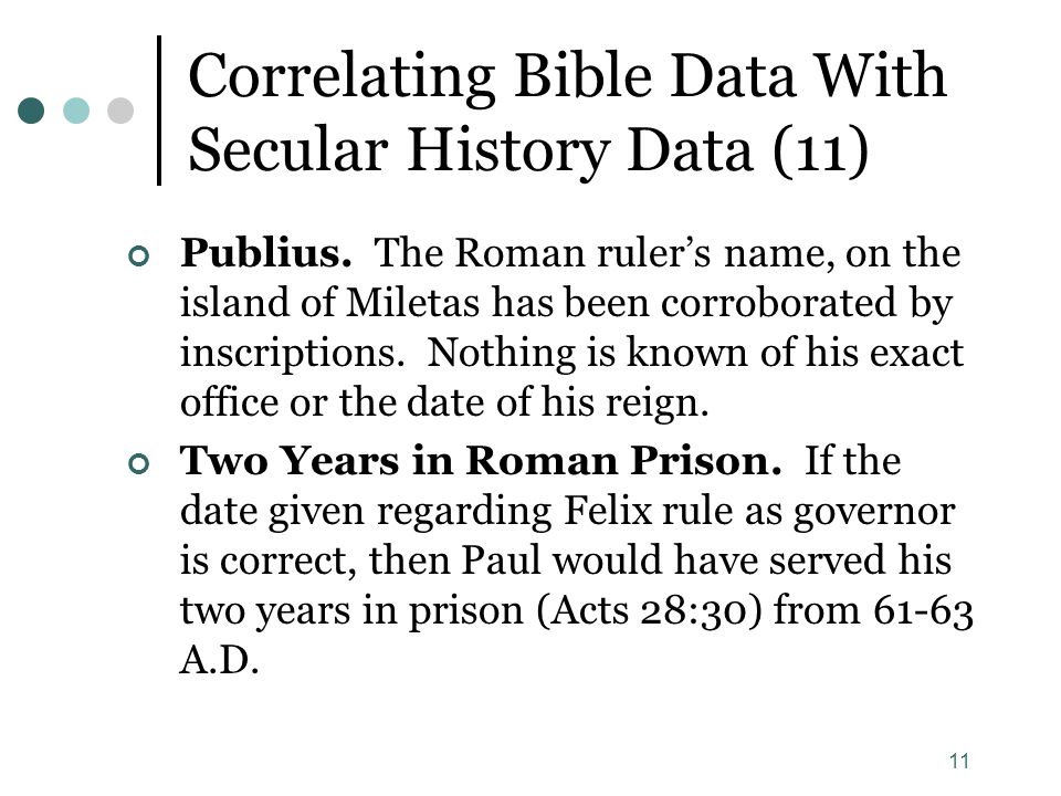 Correlating Bible Data With Secular History Data (11)