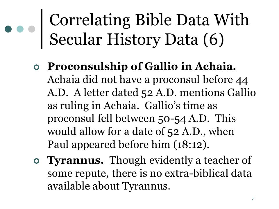 Correlating Bible Data With Secular History Data (6)