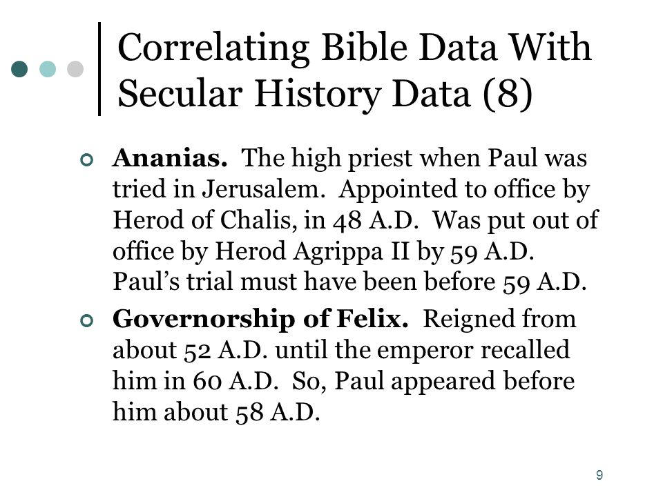 Correlating Bible Data With Secular History Data (8)