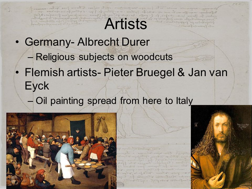 Artists Germany- Albrecht Durer