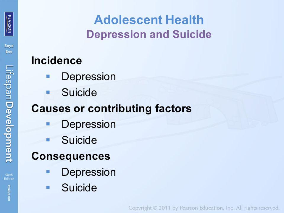 Adolescent Health Depression and Suicide