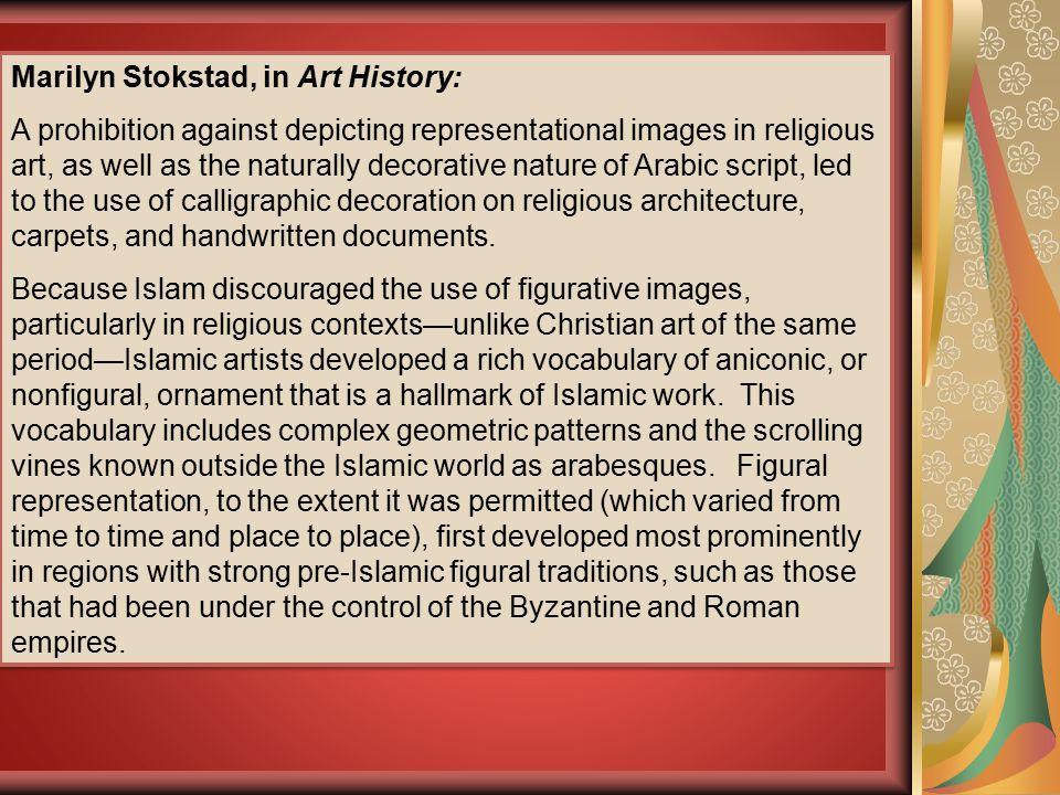 Marilyn Stokstad, in Art History: